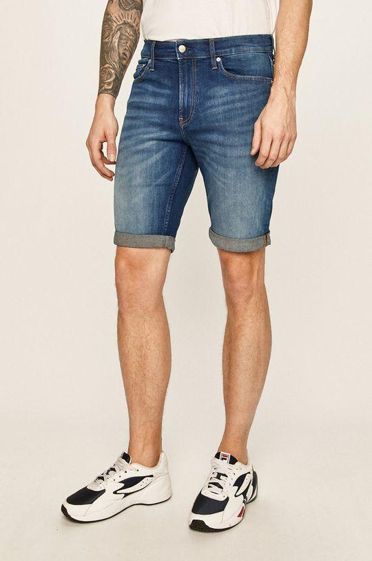 bleumarin Calvin Klein Jeans - Pantaloni scurti jeans De bărbați