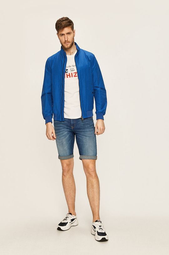 Calvin Klein Jeans - Pantaloni scurti jeans bleumarin