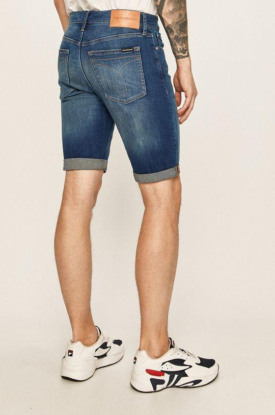 Calvin Klein Jeans - Pantaloni scurti jeans 90% Bumbac, 2% Elastan, 8% Elastomultiester