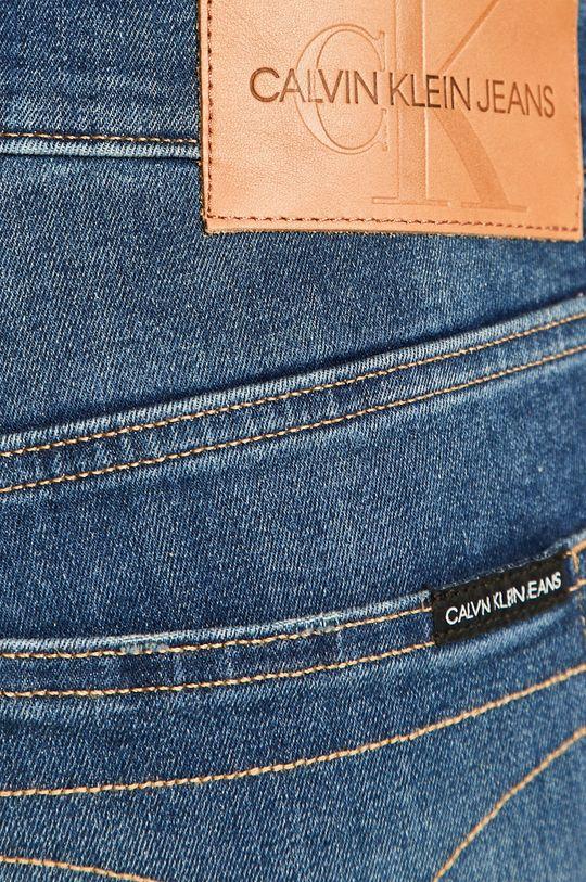 bleumarin Calvin Klein Jeans - Pantaloni scurti jeans