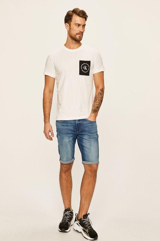 Calvin Klein Jeans - Pantaloni scurti bleumarin