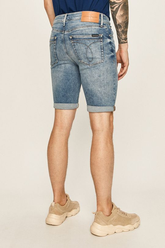 Calvin Klein Jeans - Pantaloni scurti jeans 90% Bumbac, 2% Elastan, 8% Poliester