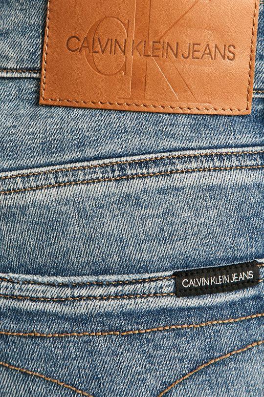 albastru Calvin Klein Jeans - Pantaloni scurti jeans