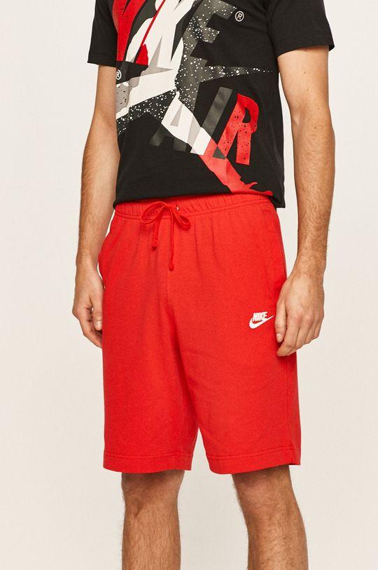 červená Nike Sportswear - Kraťasy Pánský