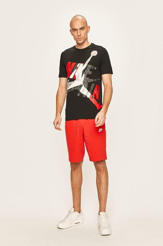 Nike Sportswear - Kraťasy červená