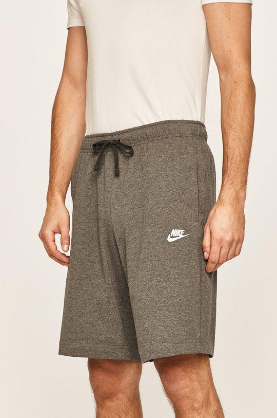 šedá Nike Sportswear - Kraťasy Pánský