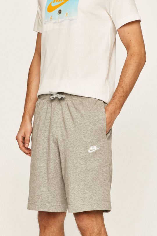 szary Nike Sportswear - Szorty Męski