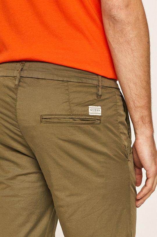oliwkowy Guess Jeans - Szorty