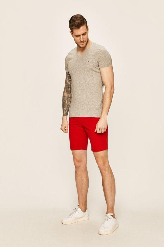 Tommy Hilfiger - Къси панталони червен