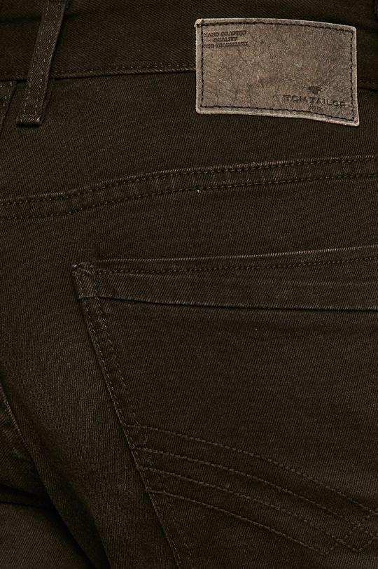czarny Tom Tailor Denim - Szorty jeansowe