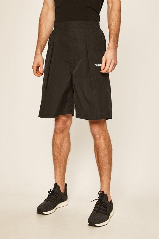 negru Hummel - Pantaloni scurti De bărbați