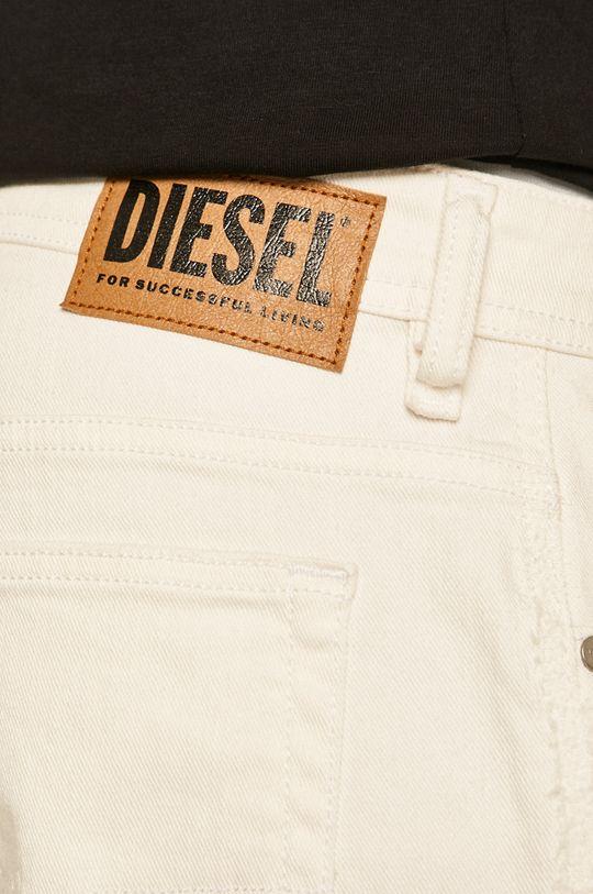 biały Diesel - Szorty jeansowe