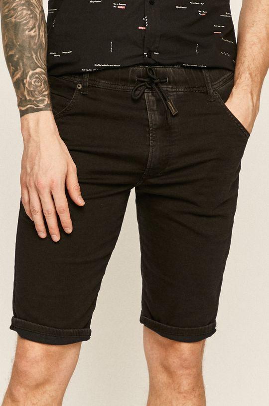 negru Diesel - Pantaloni scurti jeans De bărbați