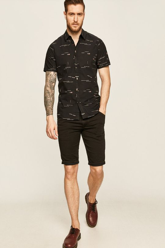 negru Diesel - Pantaloni scurti jeans