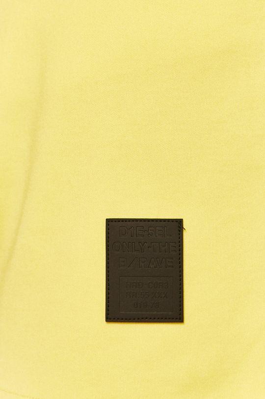 jasně žlutá Diesel - Kraťasy