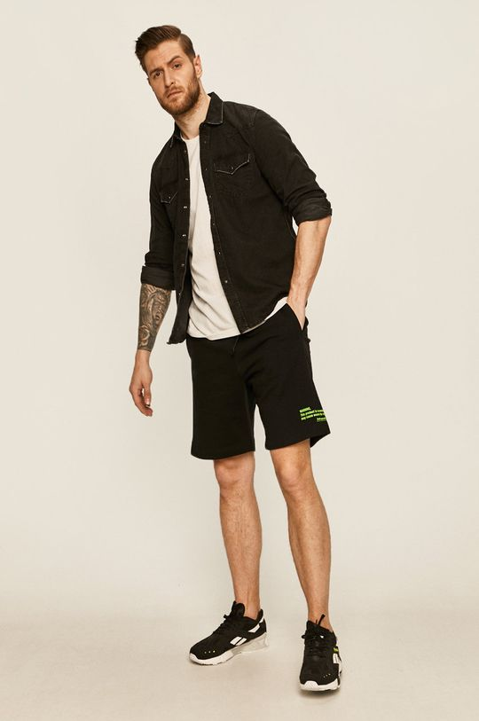 Diesel - Pantaloni scurti negru