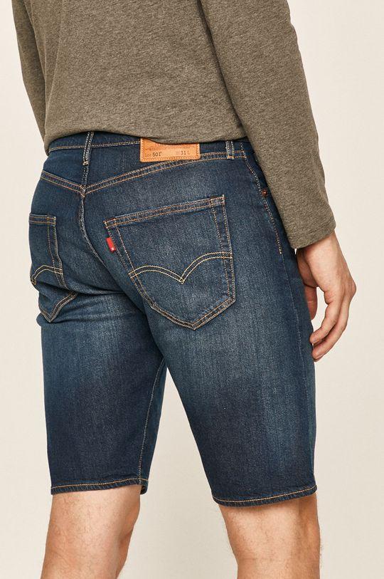 Levi's - Rifľové krátke nohavice  96% Bavlna, 2% Elastan, 2% Polyester