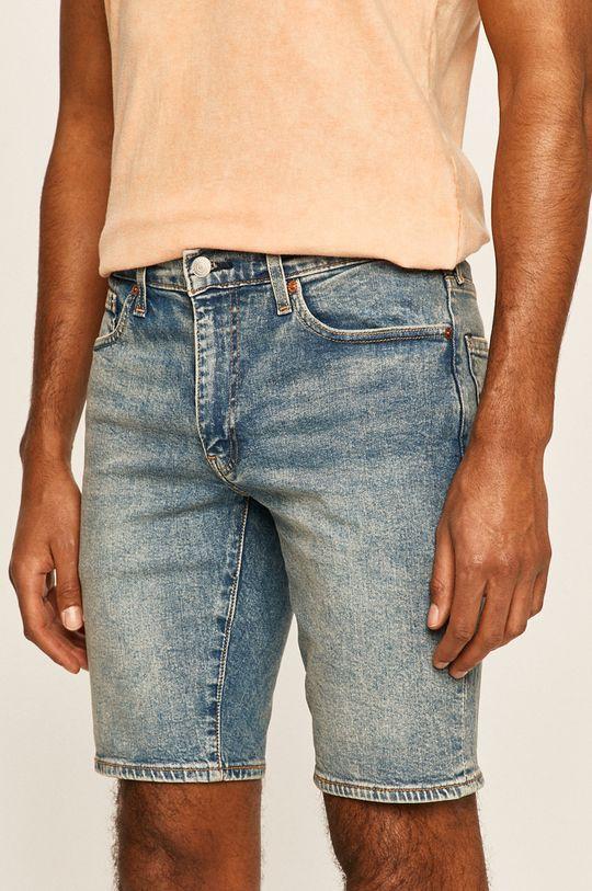 stalowy niebieski Levi's - Szorty jeansowe Męski