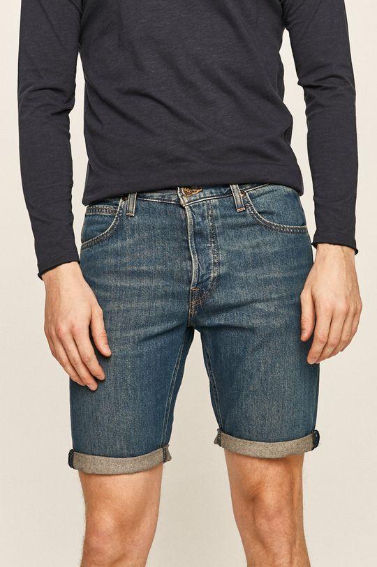 modrá Lee - Džínové šortky Pánský
