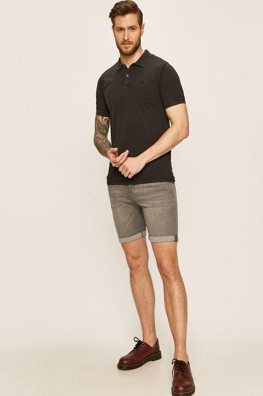 Jack & Jones - Džínové šortky 12166861 šedá