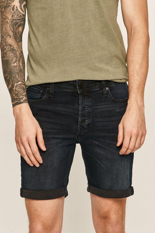 bleumarin Jack & Jones - Pantaloni scurti jeans De bărbați