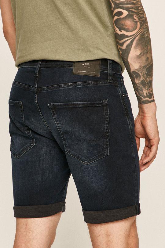 Jack & Jones - Pantaloni scurti jeans 91% Bumbac, 2% Elastan, 7% Poliester
