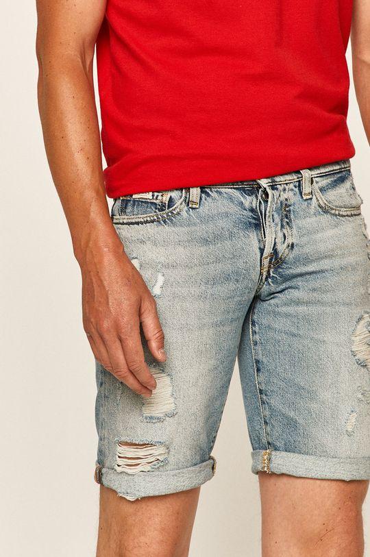 modrá Guess Jeans - Džínové šortky Pánský