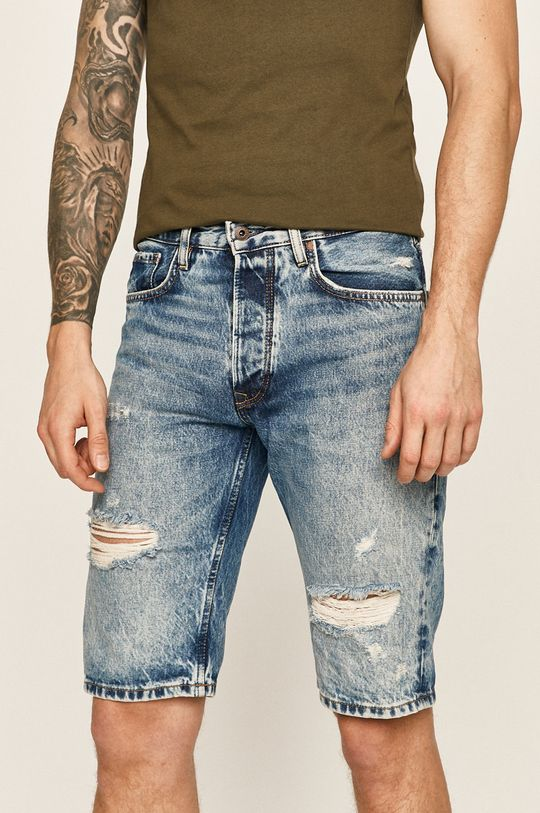 albastru Pepe Jeans - Pantaloni scurti jeans Callen De bărbați