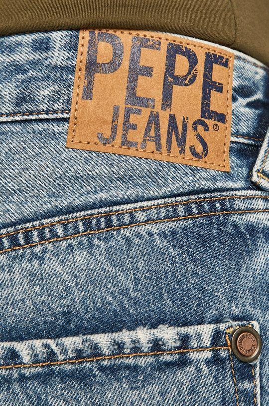 niebieski Pepe Jeans - Szorty jeansowe Callen