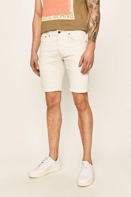 alb Pepe Jeans - Pantaloni scurti jeans Stanley De bărbați
