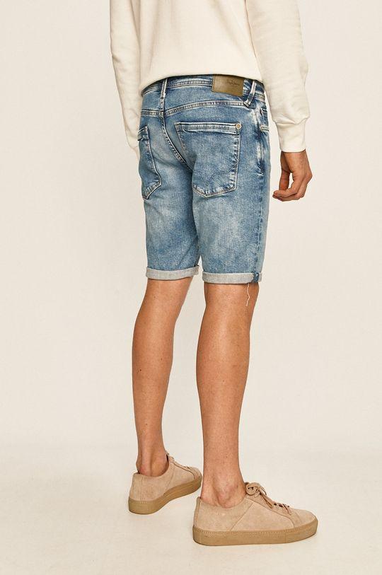 Pepe Jeans - Pantaloni scurti jeans Stanley Materialul de baza: 98% Bumbac, 2% Elastan Captuseala buzunarului: 60% Bumbac, 40% Poliester