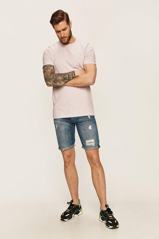 Pepe Jeans - Džínové šortky Callen modrá