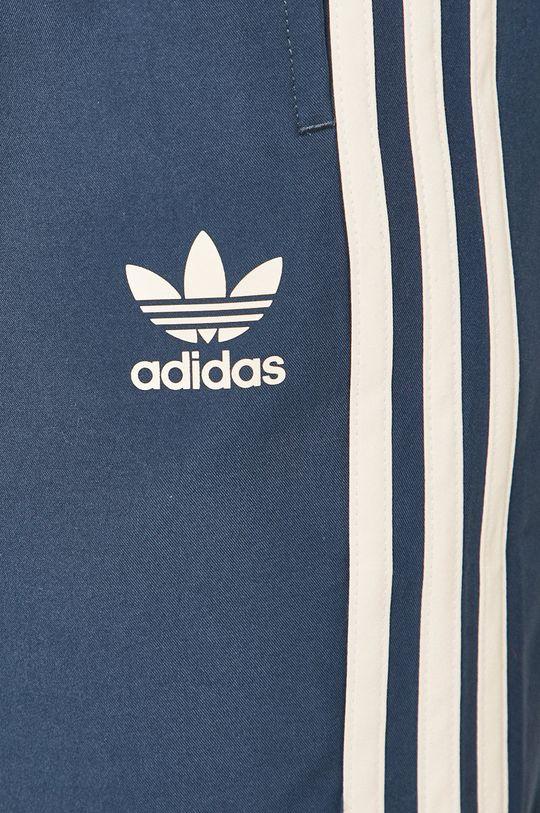 oceľová modrá adidas Originals - Plavkové šortky