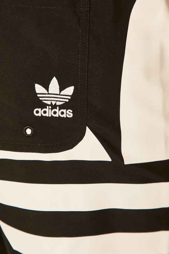 černá adidas Originals - Plavkové šortky
