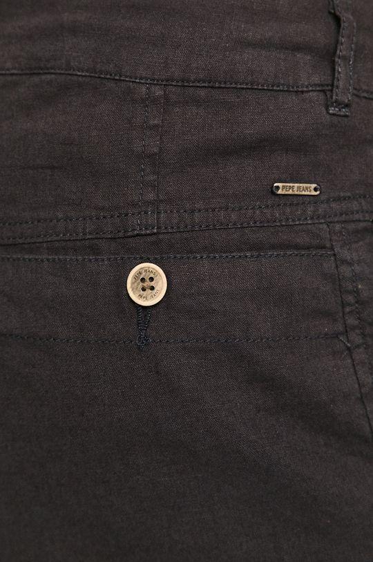 bleumarin Pepe Jeans - Pantaloni scurti Garret
