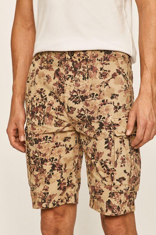 hnedá Pepe Jeans - Šortky Journey Pánsky