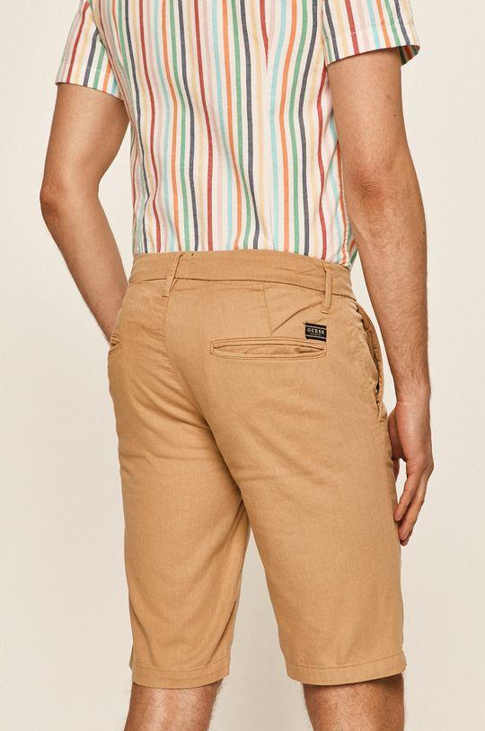 Guess Jeans - Szorty 82 % Bawełna, 2 % Elastan, 16 % Len