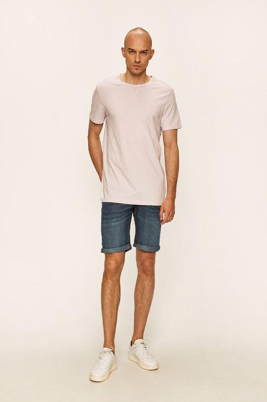 Guess Jeans - Szorty jeansowe granatowy