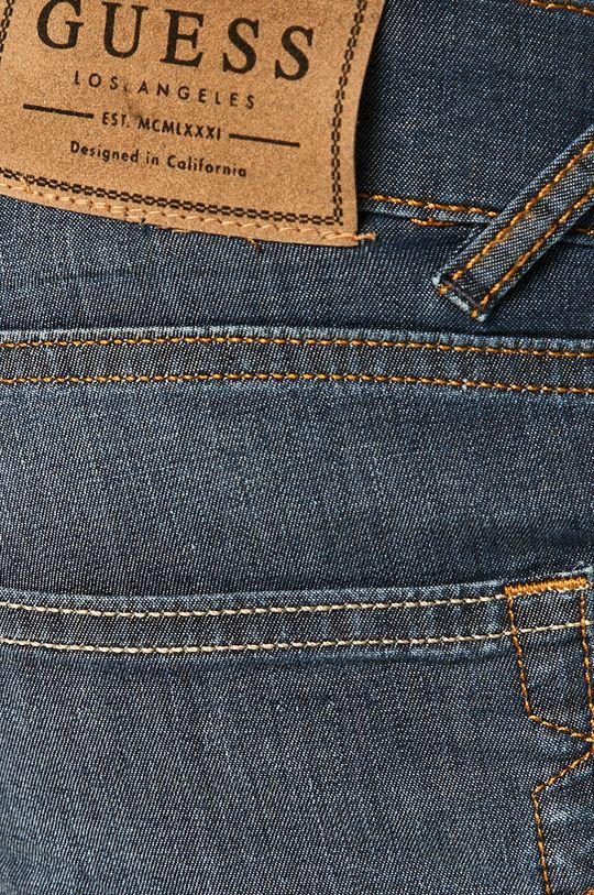 granatowy Guess Jeans - Szorty jeansowe