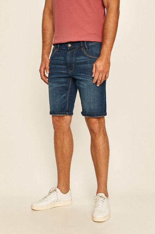 modrá Tom Tailor Denim - Džínové šortky Pánský