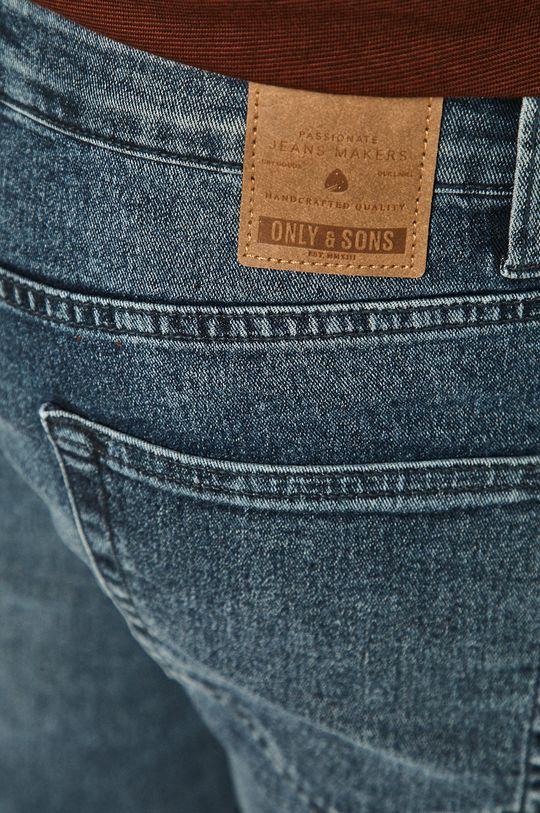 námořnická modř Only & Sons - Džínové šortky