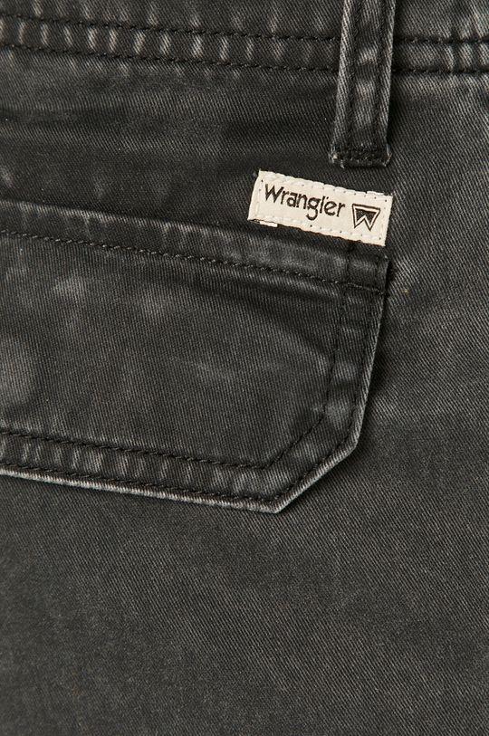 sivá Wrangler - Rifľové krátke nohavice