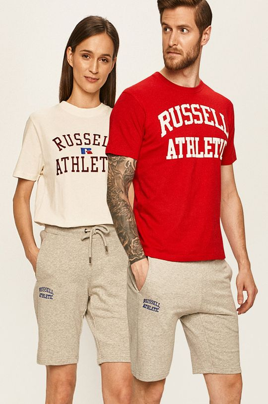 světle šedá Russell Athletic - Kraťasy Unisex