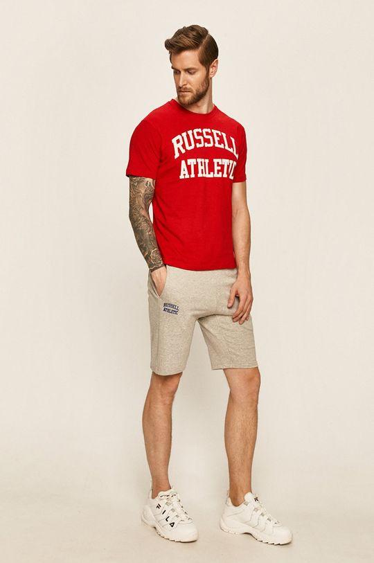 světle šedá Russell Athletic - Kraťasy