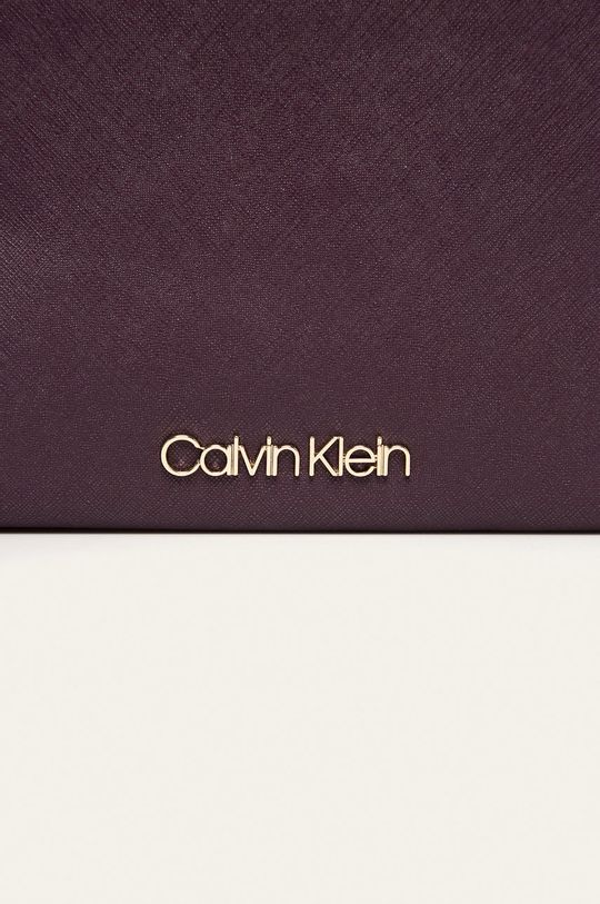 Calvin Klein - Kabelka tmavě fialová