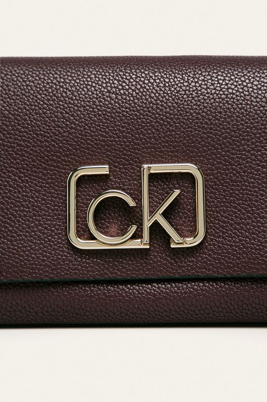 Calvin Klein - Torebka ciemny fioletowy
