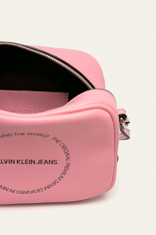 růžová Calvin Klein Jeans - Kabelka