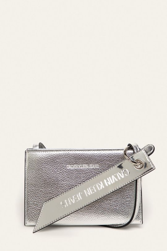 stříbrná Calvin Klein Jeans - Kabelka Dámský
