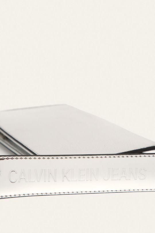 stříbrná Calvin Klein Jeans - Kabelka