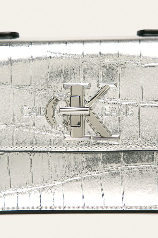 Calvin Klein Jeans - Poseta argintiu